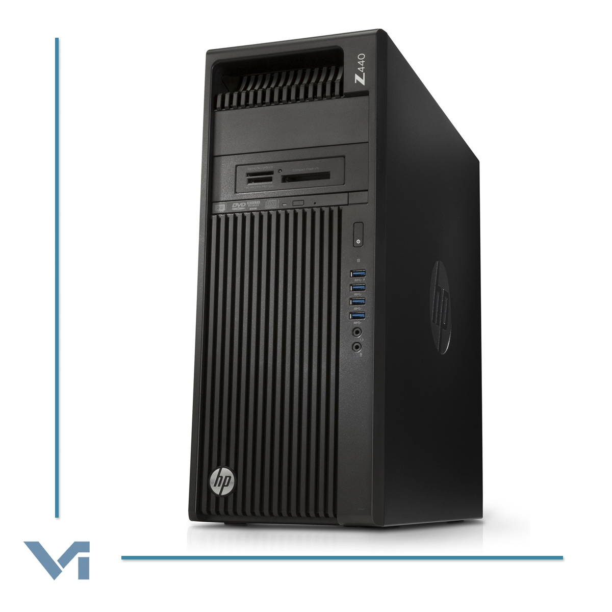 WORKSTATION HP Z440 T4K79ET TOWER - Intel Xeon E5-1620 v4 16 GB DDR4 256 GB  NVME SSD + 1TB SATA NVIDIA QUADRO M2000  DVD/RW Windows 10 Professional -NOCOLOR- Ricondizionato