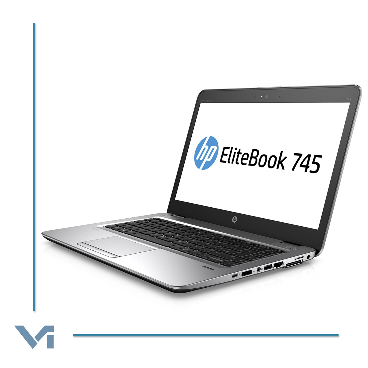 "Notebook HP ELITEBOOK 745 G3 L9Z81AV - AMD PRO A10-8700B R6 8GB DDR4 120GB SSD 14.0"" Win 10 Professional -NOCOLOR- Ricondizionato"